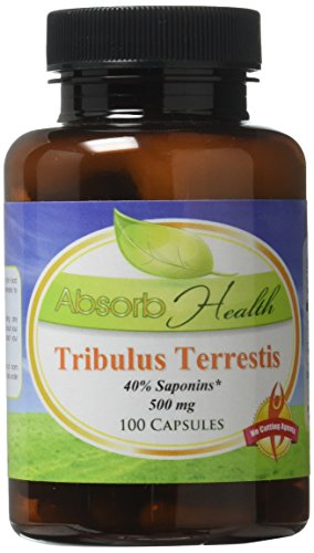 |Tribulus Terrestris || 500mg 100 Capsules || 40% Saponins || Hormone and Testosterone Support|