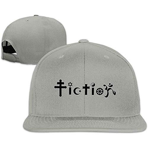 The NathalieLancaster Custom Unisex Adjustable Sports Fiction Atheist Design Snapback Flat Cap One Size