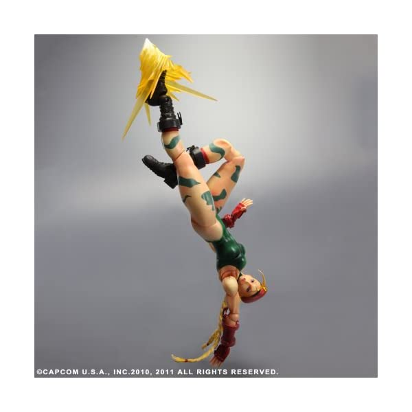 Square Enix Super Street Fighter IV - Figurita decorativa de Cammy 3