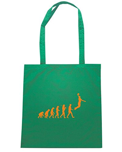T-Shirtshock - Borsa Shopping OLDENG00831 evolutionbasketball Verde