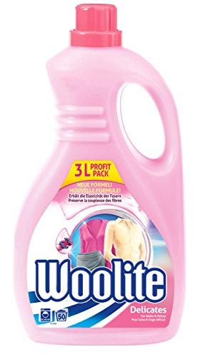 Woolite Feinwaschmittel, sanftes Flüssigwaschmittel für 50 Waschladungen, 1er Pack (1 x 3 l)