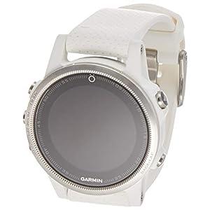 Garmin fēnix 5S Bluetooth Silver,White sport watch - Sport Watches (Silver, White, Water resistant, Silicone, 10 ATM, 100 m, Cycling, Golf, Rowing, Running, Skiing, Swimming)