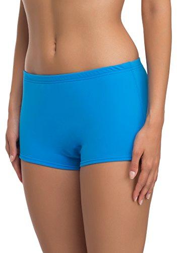 Merry Style Costume a Pantaloncino da Nuoto per Donna Modello L23L1 Blu (60009)
