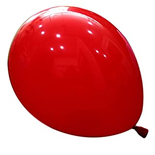 logei® 100St Rund-Luftballons Luftballons Rundballons Ballons Deko für Valentinstag, Verlobung, Hochzeit, Rot