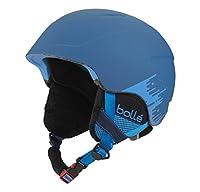 Bollé Casco da sci B-Lieve morbido blu Brush - Blu, 53-58 cm - Bollé bambini Casco da sci B-Lieve morbido Blue Brush