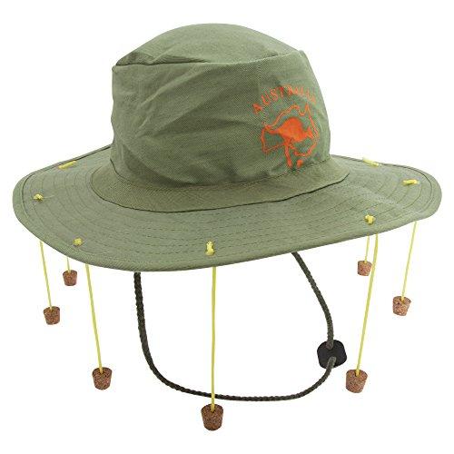 Australien Kostüme (Henbrandt Unisex Australien-Hut mit Korken (Einheitsgröße))