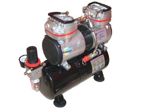 Hobby compressore aerografo con contenitore a pressione Fengda® AS-196