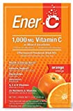 Pack of 4 x Ener-C Vitamin Drink Mix - Orange - 1000 mg - 30 Packets