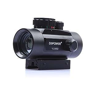 Lunette de visée à pointeur laser rouge 30 mm