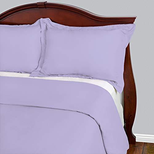 Cosy House Collection Bettwaren Sets 3-faltenfrei und schmutzabweisend-reißfest-100% Mikrofaser-Die meisten Langlebig Tröster Arbeit Hypoallergen Bettwäsche Cover, lavendel, Full/Queen -