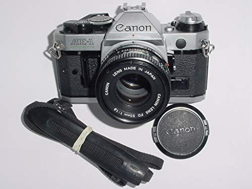 Canon Vintage AE-1 Programm 35mm SLR-Kamera mit 50mm 1: 1,8-Objektiv