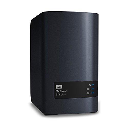 WD My Cloud EX2 Ultra - Unidad de almacenamiento en red de 20 TB (dos...