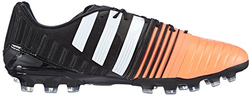 adidas Performance Nitrocharge 1.0 AG Herren Fußballschuhe Mehrfarbig (Core Black/Ftwr White/Flash Orange S15)