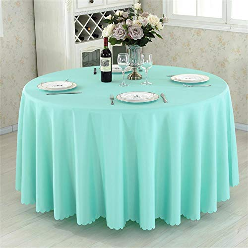 Grüne Runde Hotel Round Table Cloth Restaurant Hochzeit Tischdecke Konferenztisch Abdeckung...