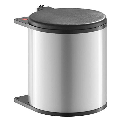 Hailo Big Box Küchen-Abfalleimer, Kunststoff schwarz, One Size