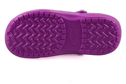 Chung Shi DUX 7900010 Chaussons mules Shibit pour adulte Unisexe Violet - violet