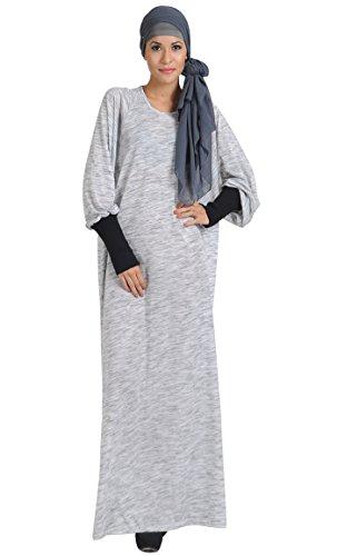 East Essence - Robe - Femme Gris - Gris