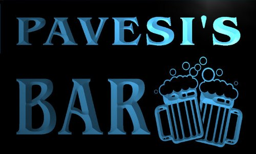 w122297-b-pavesi-name-home-bar-pub-beer-mugs-cheers-neon-light-sign