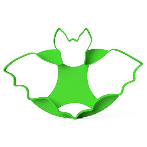 Ausstecher Fledermaus │ Ausstechform │ Keksausstecher Halloween Cookie Cutter Bat │ Größe XXL 15cm ideal für Karneval Bento Tortendeko │ inkl. 2 Rezepte │ aus Bio Kunststoff │ Made in Germany
