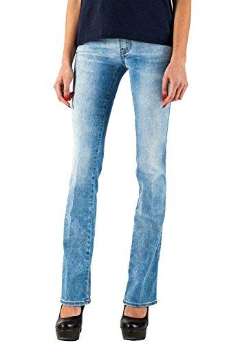 Meltin'Pot - Jeans BLANCO D2028-UK470 für frau, boot-cut stil, regular fit, normaler bund - größe W37/L34 (Größe hersteller:29)