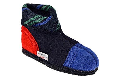Wesenjak 24603 Original Pantoufles Neuf Chaussur. Rouge / Bleu / Noir