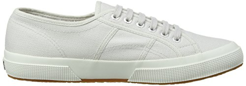 Superga Unisex-Erwachsene 2750 Cotu Classic Low-Top Grey Seashell