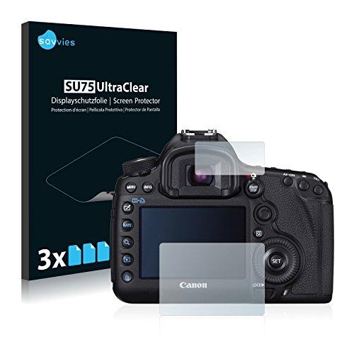 5d Canon Cover (Canon EOS 5D Mark III Schutzfolie [6er Pack] - kristallklare Displayschutzfolie Folie Displayfolie)