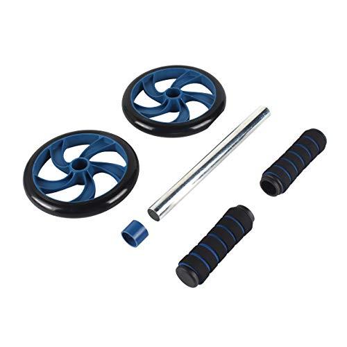 Bauch Rad Fitness Workout Gym Roller für Arme Zurück Bauch Core Trainer Roller Doppelräder Fitnessgeräte Liefert