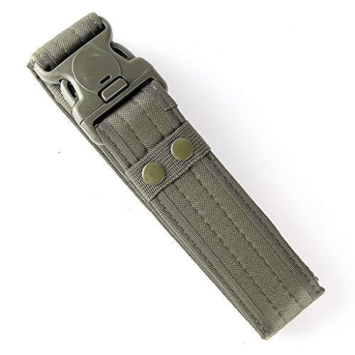 LABIUO Herrengürtel,Militärischer Trainingsgürtel Taktischer Gürtel Schnellverschlussgürtel,Gürtel(F,Freie Größe) -
