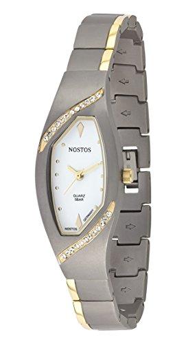 Osco Germany Titan-Armbanduhr Damen mit Metallband NOS06143002