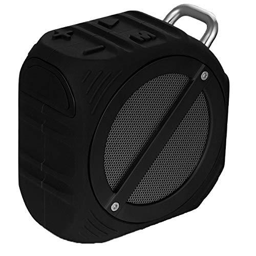 THINKMIC Bluetooth Lautsprecher, Bass, Level 6 Wasserdicht, Absturzsicherung, Outdoor, Tragbaren, Drahtlosen, Integrierte Voice-Tipps, Karte, Anruf Funct Ion -