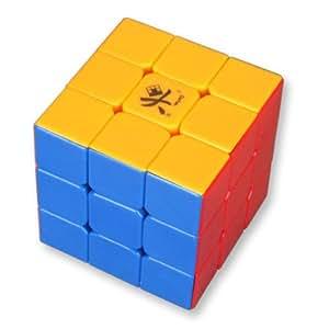 Dayan Guhong II 2 Plus V2 3x3 sans autocollant 6 Couleur Cube de vitesse PLUS vite