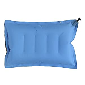 Duckback Polyester Travel Pillow (Blue_blairpillow)