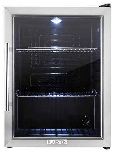 klarstein-beersafe-xl-compact-fridge-refrigerator-65l-class-b-glass-door-5-step-adjustable-thermosta