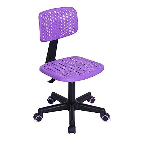 FurnitureR Home Office Task Computer Chairs Mid Back Swivel Adjustable