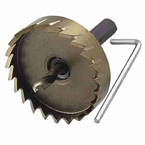 Nach &, sich (TM) HSS 53mm Durchmesser Eisen Schneiden 6mm Dia Twist Drill Bit Lochsäge