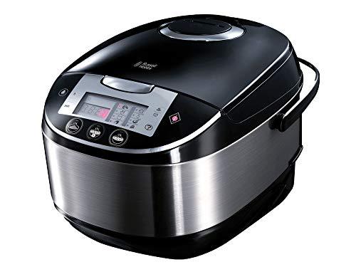Russell Hobbs Cook@Home - Robot de cocina (900 W, 11 Programas, Acero Inoxidable, 5 l, Digital, Negro) - ref. 21850-56