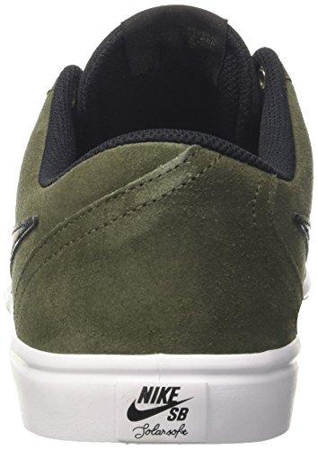 Nike Sb Check Solar, Scarpe da Skateboard Uomo Verde (Cargo Khaki/black)