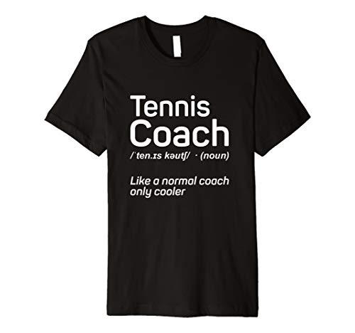 Tennis Shirt Lustig Tennis Trainer Geschenk Definition Shirt