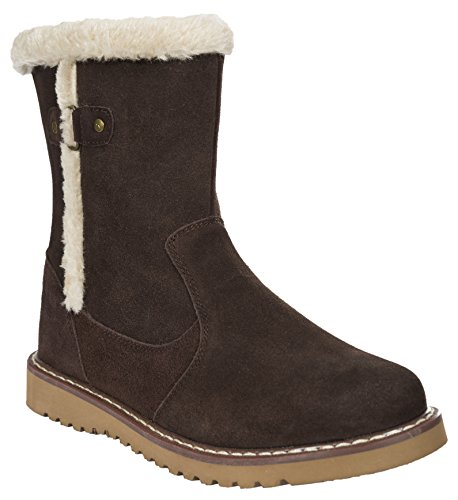 Trespass Damen Lockwood Kurzschaft Stiefel Brown (Earth)