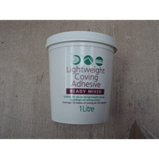covemaster lightweight coving adhesive 1ltr tubs x qty4