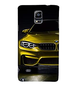EPICCASE golden bmw Mobile Back Case Cover For Samsung Galaxy Note Edge (Designer Case)
