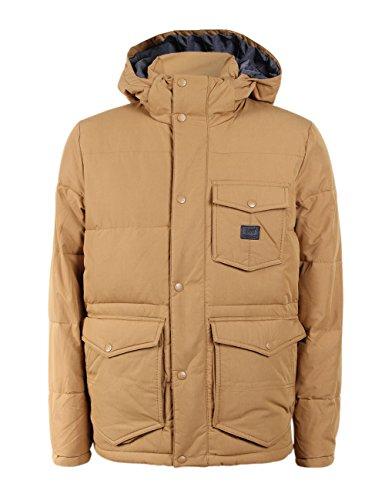 Lee Herren Jacke Puffer Jacket - Regular Fit, Größe:S, Farbe:Dijon (05) (Lee Jeans-jacke)