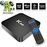ACHICOO K92 Android 9.0 TV Box Aml/ogic S905 X2 2.4G / 5G Dual WiFi USB3.0 BT4.2 Supports 4K Media Player 4+64G US Plug