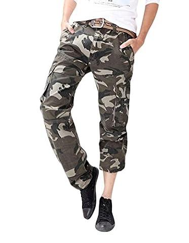 Brinny Adultes Combat Pantalons Treillis Militaire Cargo Armee Pantalon de