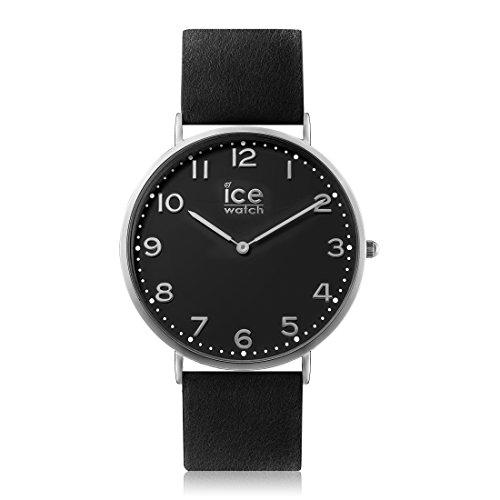 Ice-Watch - CITY Barrow - Montre noire pour homme avec bracelet en cuir - 012812 (Medium)