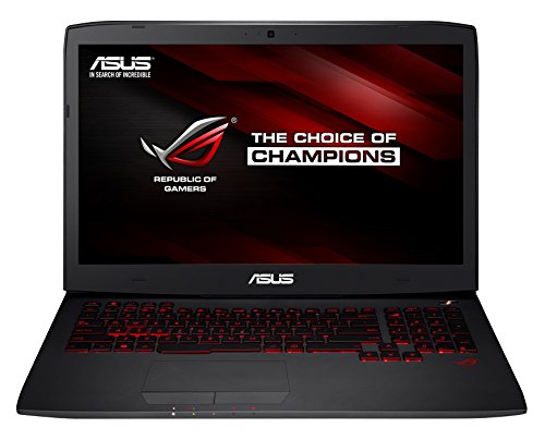 Asus ROG Gaming G751JY-T7161H 43,9 cm (17,3 Zoll) Notebook (Intel Core-i7 4720HQ, 2,6GHz, 24GB RAM, 1TB HDD+ 256GB SSD, NVIDIA Geforce GTX 980M, Bluray, Win 8.1) schwarz