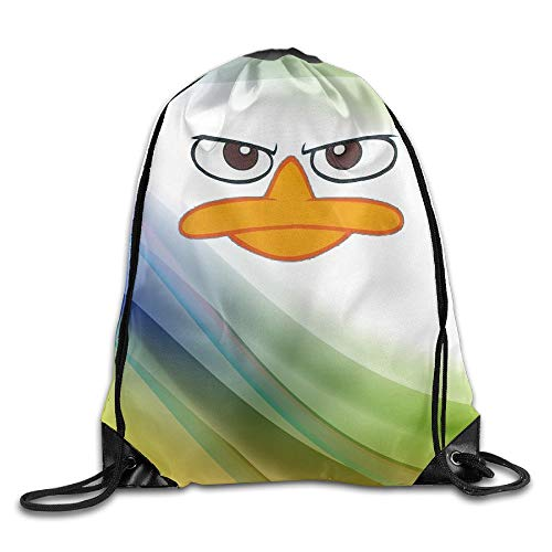 Artpower Perry Platypus - Face Phineas Ferb Backpack Bags (Halloween Y Ferb Phineas)