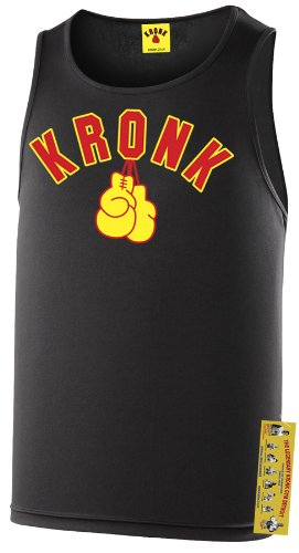 Kronk Boxing Outline Gloves Training Gym Vest Top Sportswear Polyester