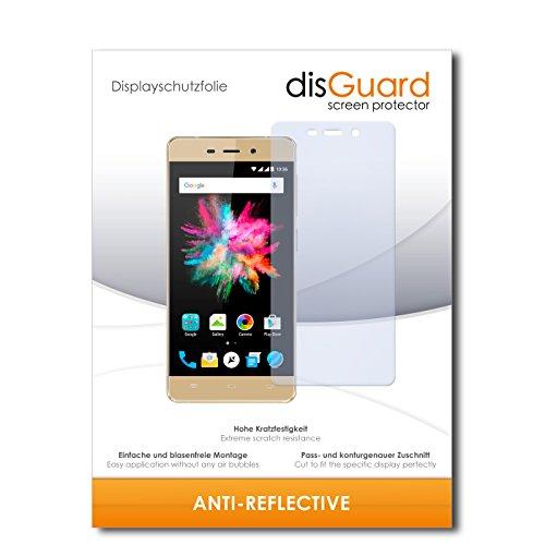 disGuard® Bildschirmschutzfolie [Anti-Reflex] kompatibel mit Allview X3 Soul Mini [2 Stück] Entspiegelnd, Matt, Antireflektierend, Extrem Kratzfest, Anti-Fingerabdruck - Panzerglas Folie, Schutzfolie